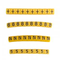 Letter and number marks for...