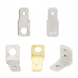 Coupling tabs DIN 46244 A